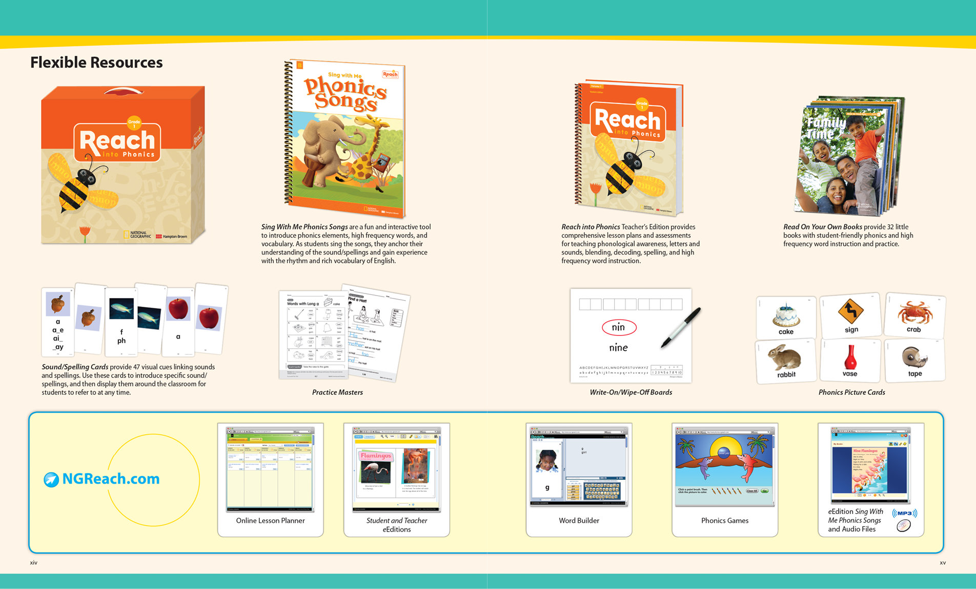 National Geographic Reach – NGL School Catalog – Series